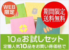 WEB限定 10点お試しセット
